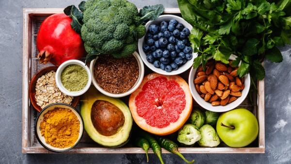 Dieta planetaria - frutas y verduras