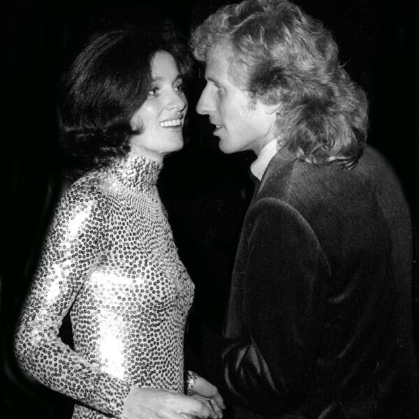 Margaret Trudeau and Vitas Gerulaitis at Studio 54 1978