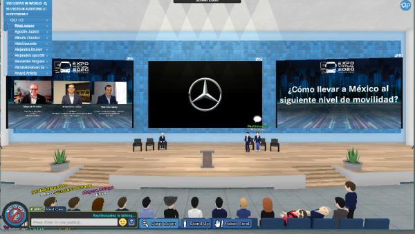 Expo virtual Mercedes-Benz