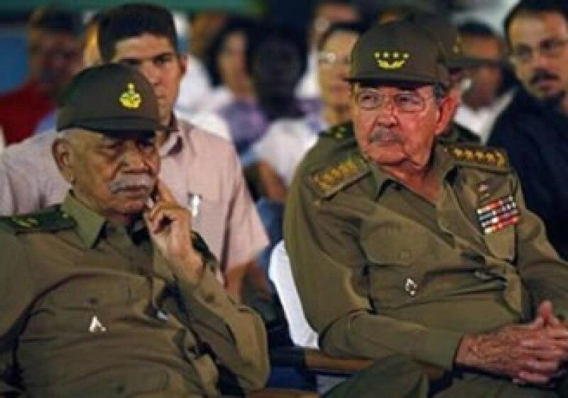 Almeida (izquierda) nació en La Habana el 17 de febrero de 1927 (Foto: Reuters)