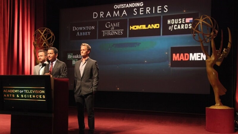 emmy series drama nominadas