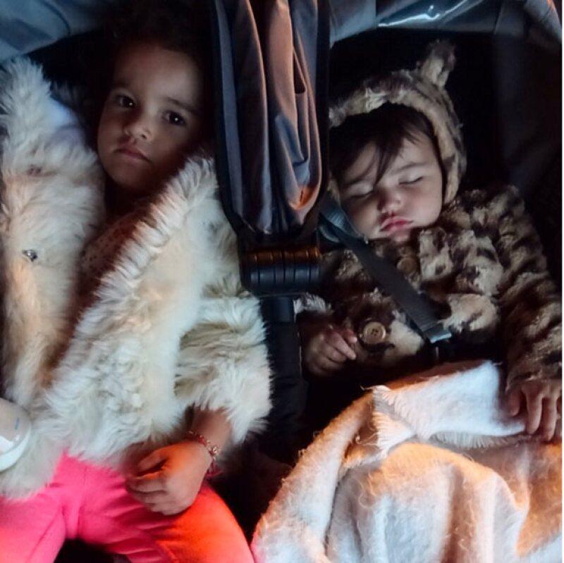 Tanto Regina como Erin terminaron exhaustas del festejo.