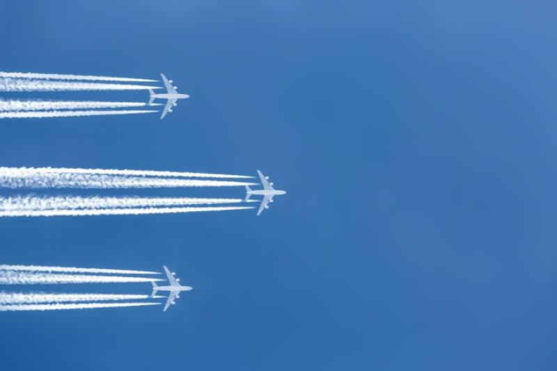 La carrera en el aire