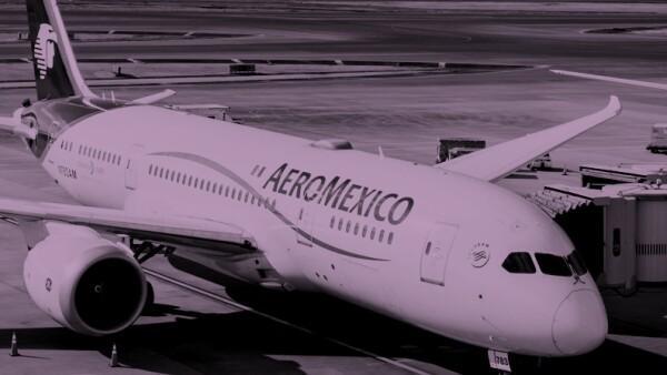 Aeroméxico huelga