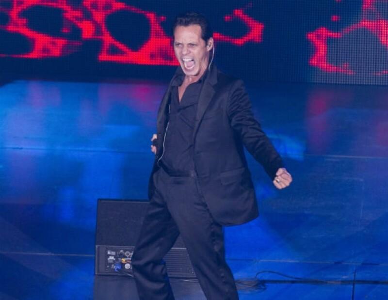 Marc Anthony se presentó recientemente en el Auditorio Nacional.