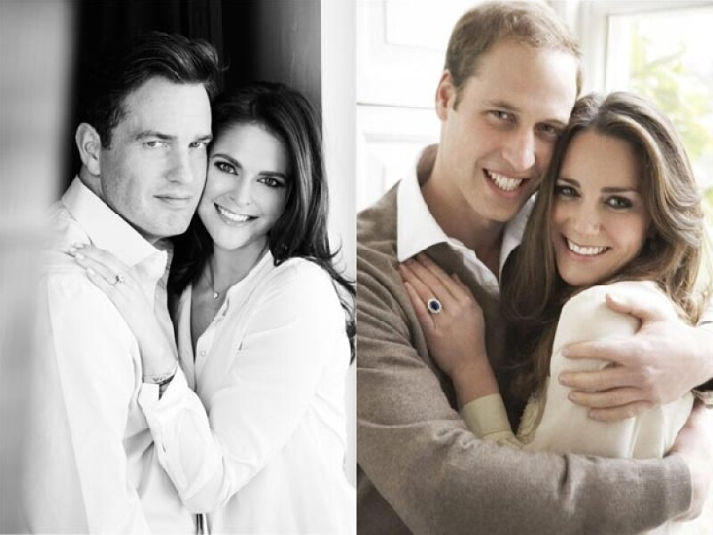La princesa de 30 años se comprometió con el banquero Chris O&#39Neil y su fotografía oficial de compromiso es muy parecida a la de los duques de Cambridge.
