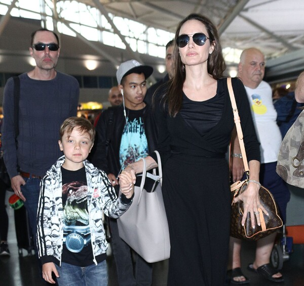 Angelina Jolie y James Haven