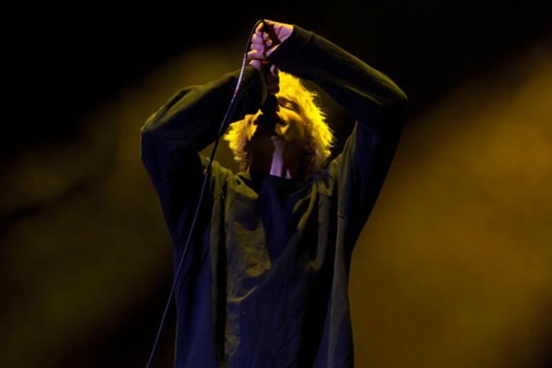 Tim Burguess, vocalista de The Charlatans.