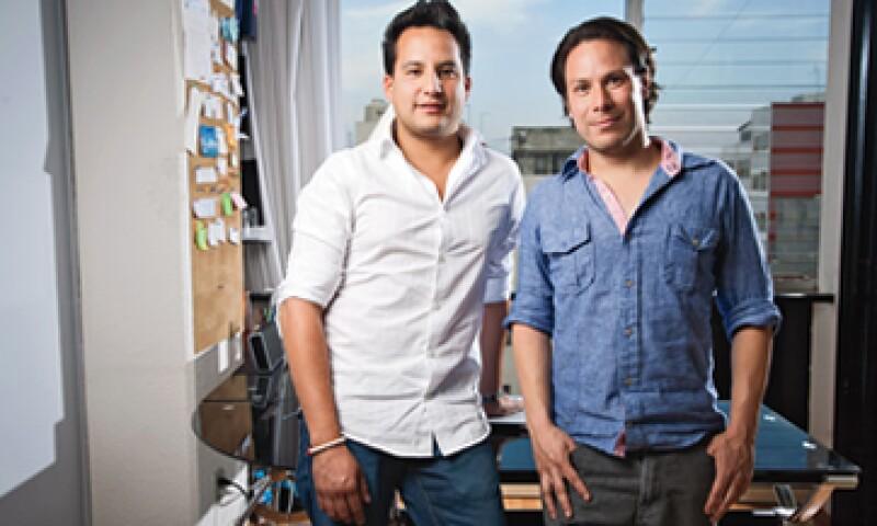 La empresa de Eric Villagómez y Eduardo Silva fue fundada en 2011. Actualmente tiene 15 empleados y se dedica a producir sistemas para que los camiones de carga ahorren diesel y eviten el robo de combustible. (Foto: Adán Gutiérrez)