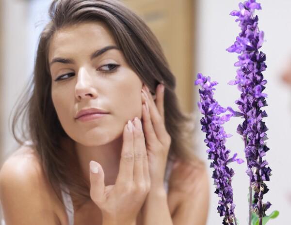 La lavanda puede ayudar contra el acné en la piel.