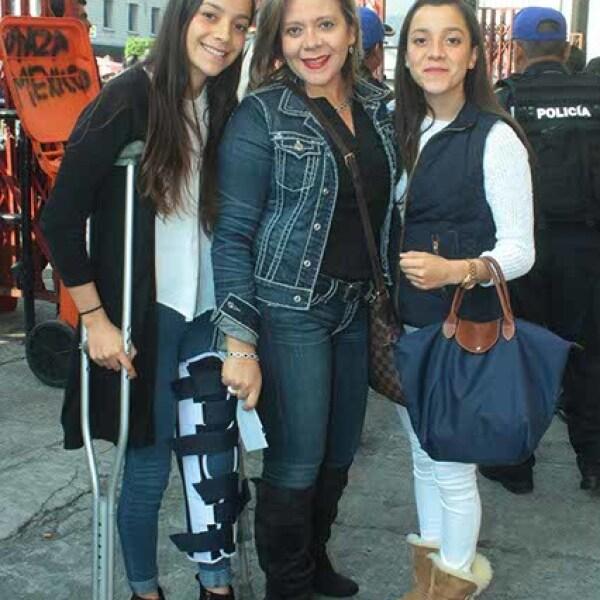 Mariana Castillo,Elizabeth De La Rosa y Daniela Castillo
