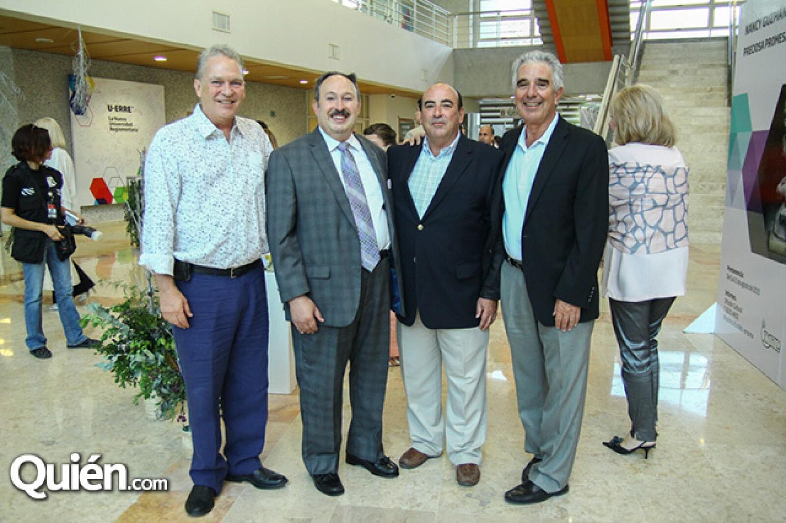 Eugenio Elizondo,Luis Guzmán,Guillermo Guzmán y Hugo Alanís.