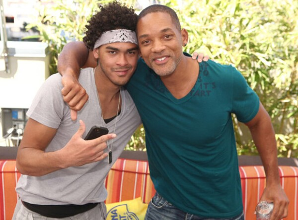 Trey y Will smith parecen hermanos.