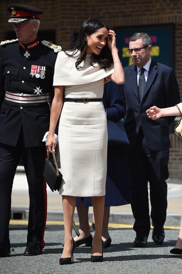 Queen Elizabeth II and Meghan Duchess of Sussex visit Cheshire, UK -