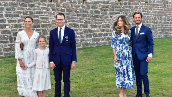 Crown Princess Victoria of Sweden birthday celebrations, Borgholm, Sweden - 14 Jul 2020
