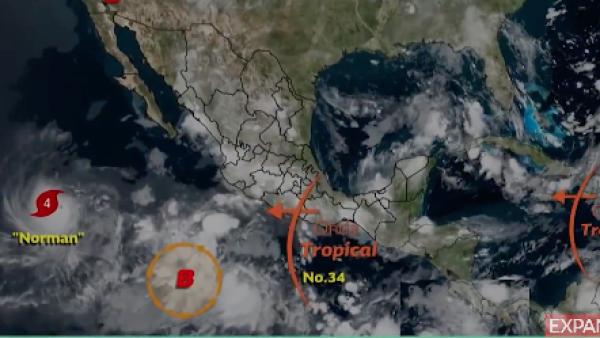 El pronóstico de lluvias se mantiene para la Ciudad de México