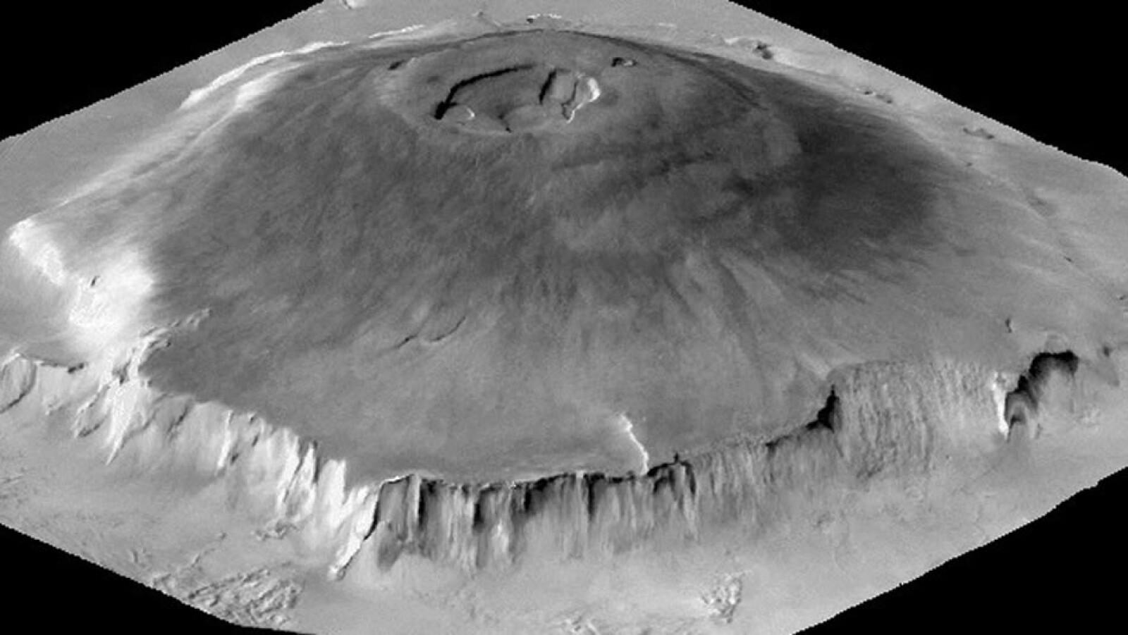 ciencia, marte, supervolcanes, volcanes, formaciones geologicas, crateres