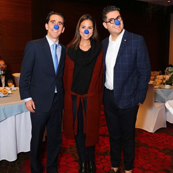 Gerardo Gaya,Alejandra Celayo y Jonathan Silva