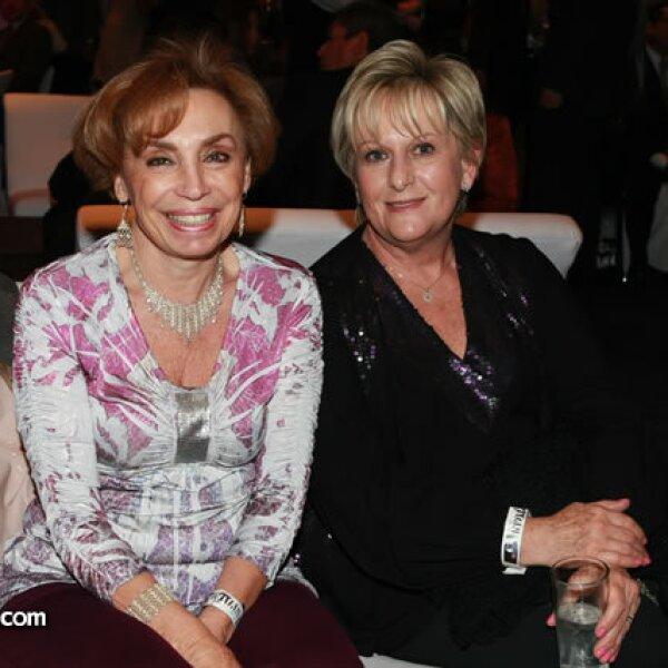 Nina Cassab y Bertha Rabner