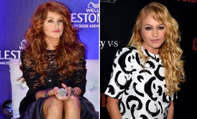 Definitivamente no concebimos otro color de pelo que no sea güero para Paulina.