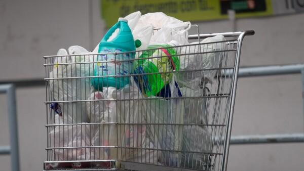 Uso de bolsas de plástico