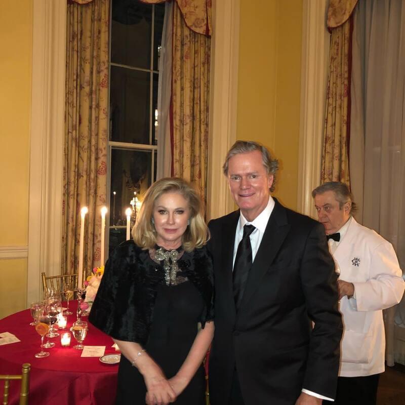 Kathy y Richard Hilton