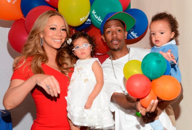Aunque fue un embarazo complicado, hoy Mariah tiene la dicha de tener a dos encantadores hijos.