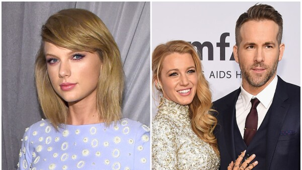Taylor Swift, Blake Lively y Ryan Reynolds