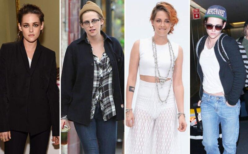 Su estilista revela los dos motivos por los que la actriz se ha dejado ver con un estilo más masculino y relajado.