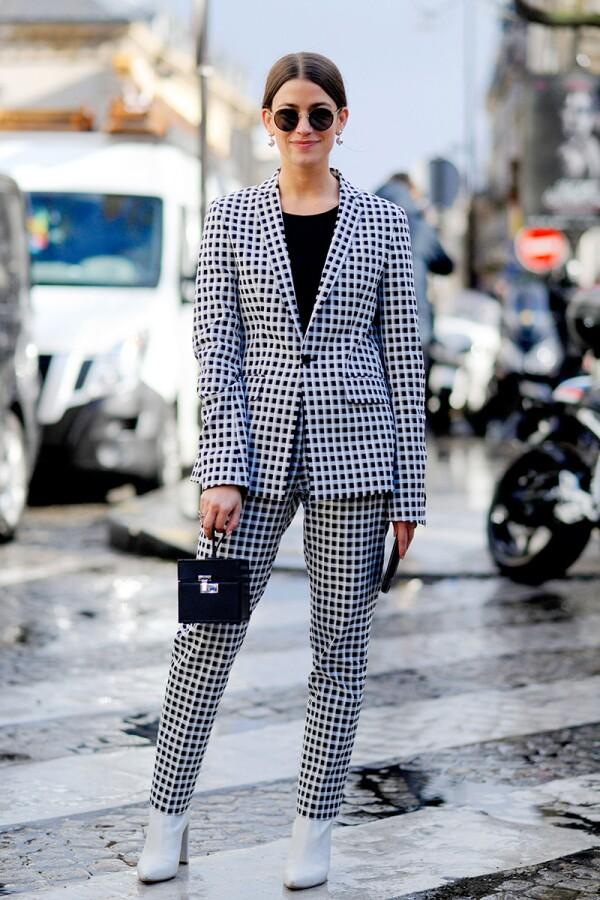 Street Style, Day 6, Autum Winter 2017, Paris Fashion Week, France - 05 Mar 2017