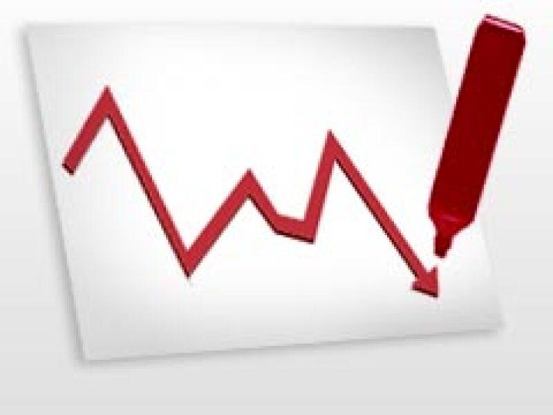 La economía mexicana se contrae más de lo esperado. (Foto: Archivo)