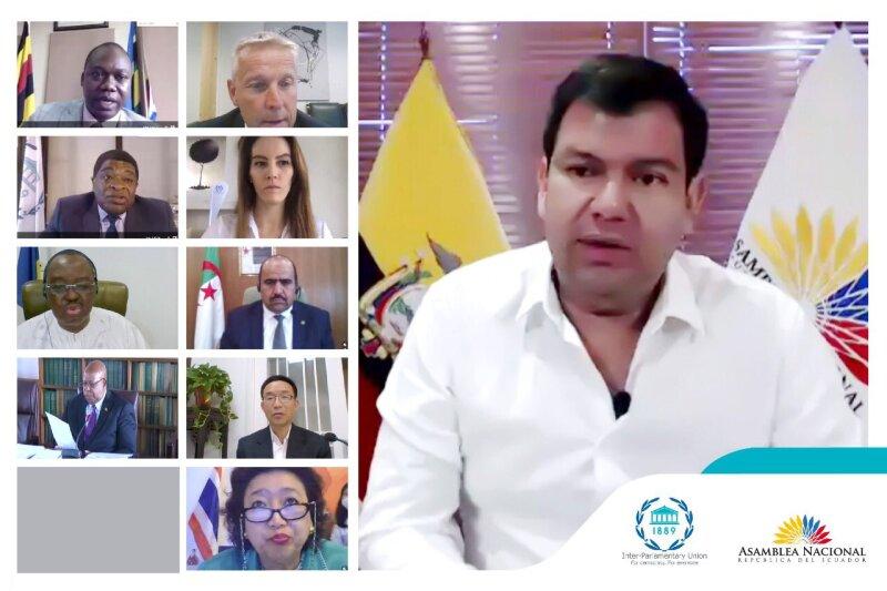 Reunión global de legisladores.