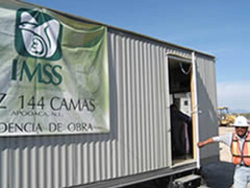 El IMSS invierte en Nuevo León. (Foto: Cortesía IMSS)