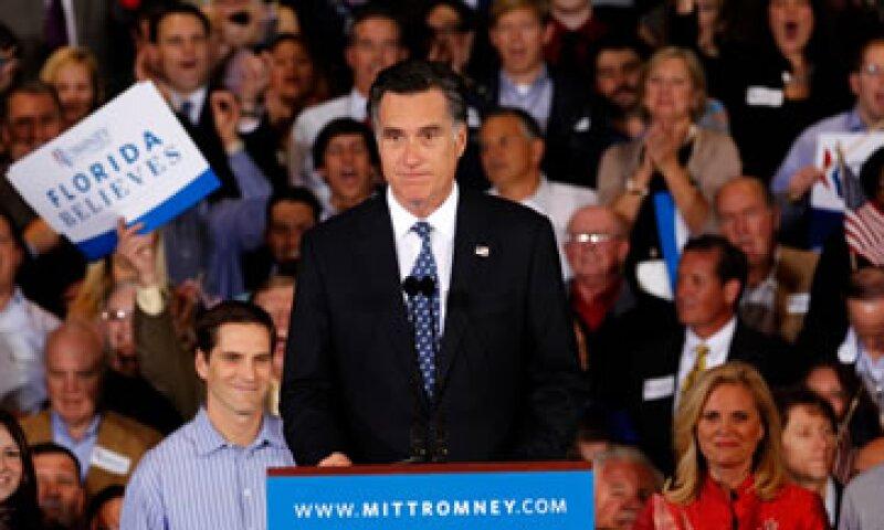 Mitt Romney ogró el 46% de los votos en las elecciones primarias de Florida.  (Foto: Reuters)
