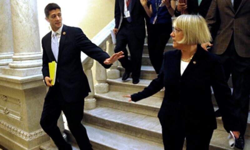 El pacto bipartidista de 85,000 mdd evitará que el Gobierno se quede sin fondos el próximo 15 de enero. (Foto: Reuters)
