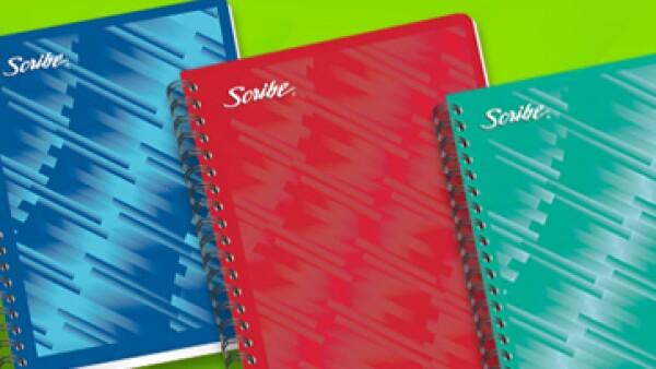 En la actualidad Scribe tiene casi 75% del mercado de cuadernos en México. (Foto: Tomada de scribe.com.mx)