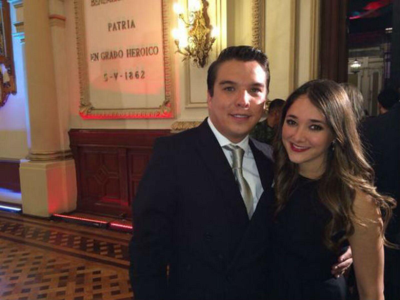 Sherlyn y Gerardo Islas vivieron el Grito de Independencia desde Puebla.