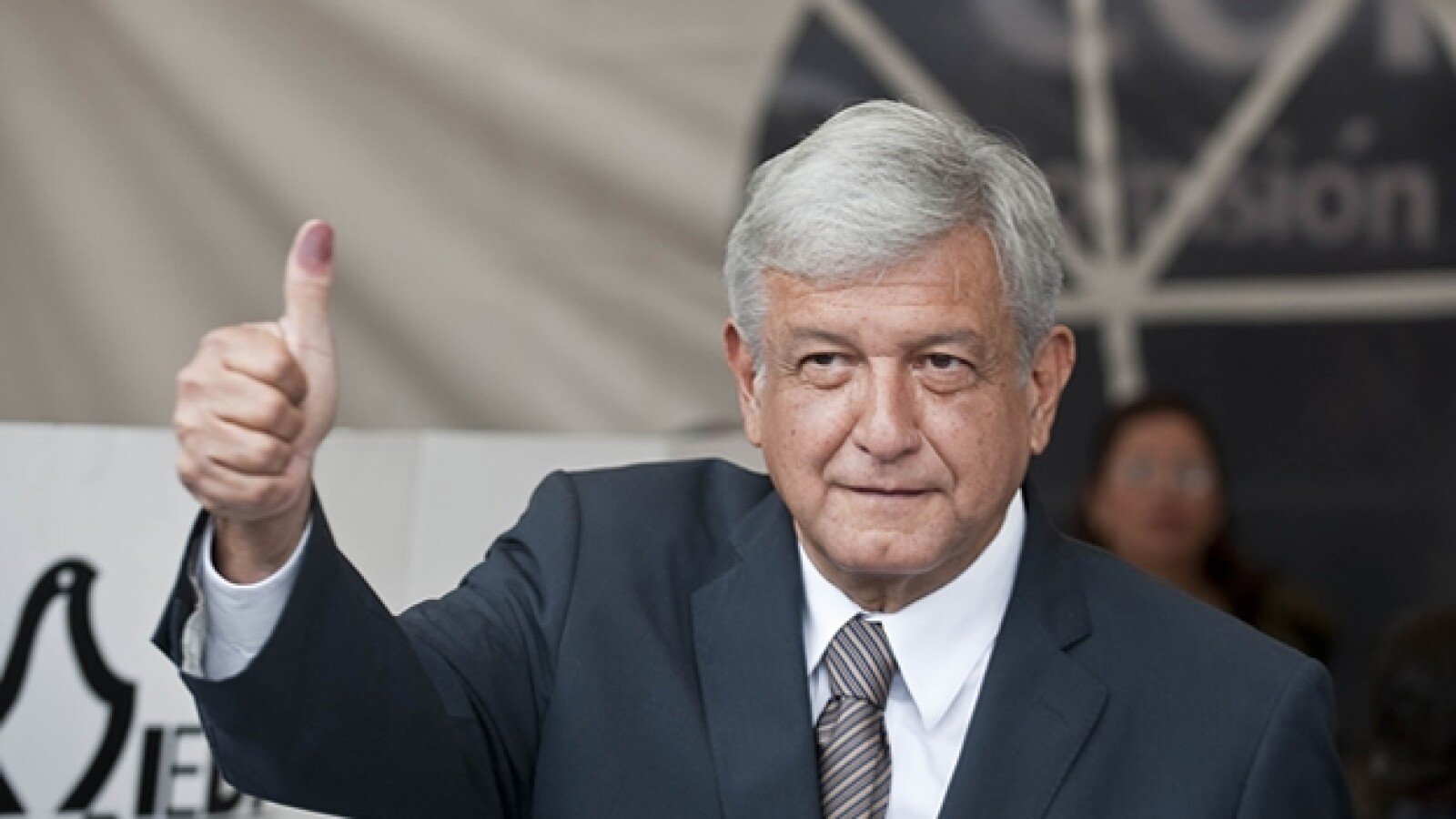 Lopez Obrador voto