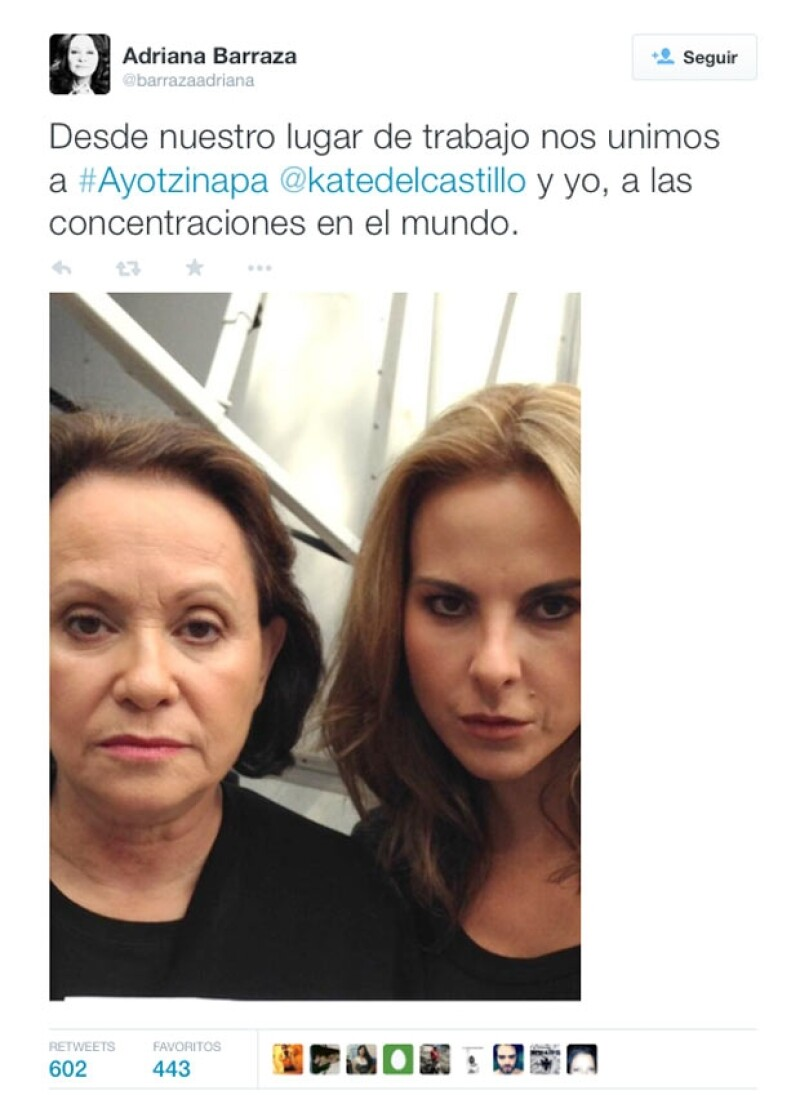 Chicharito, Martha Cristiana y más celebridades se unen a la causa de las manifestaciones el día de hoy a través de sus redes sociales.