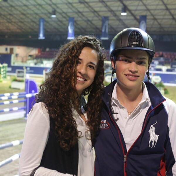 Natalia Alarcón y Dorin Urich-Sass