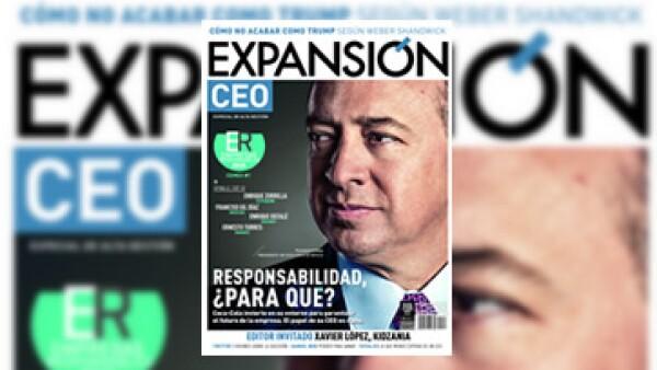 Expansión dedica su portada de esta edición al principal ejecutivo de Coca-Cola de México: Francisco Crespo. (Foto: Duilio Rodríguez )