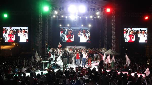 Oaxaca, con Alejandro Murat, es uno de los cinco estados donde el PRI lleva la ventaja.