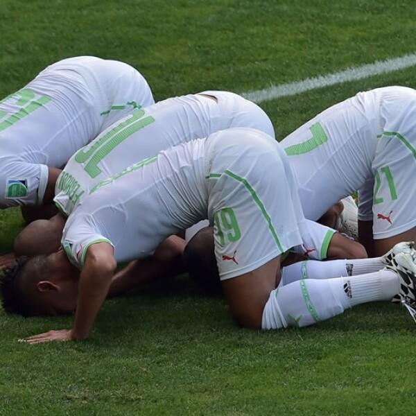 Argelia vs Bélgica