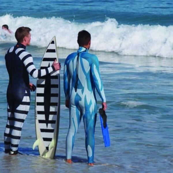 traje de surf SAMS tiburones