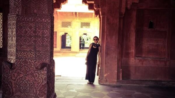 La actriz y experta en 'healthy food' se fue de viaje a Asia luego de celebrar su cumpleaños en Inglaterra.