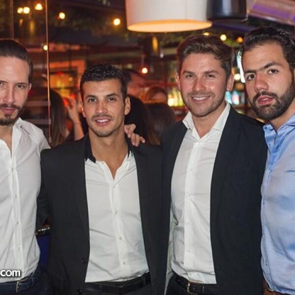 Rodrigo Cuevas,Eduardo Cuervo,Juan Carlos Valladolid y Camilo Rodríguez