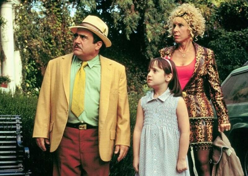 Escenas de la película cuando Mara Wilson interpretó el papel de la niña con poderes mágicos a la edad de 9 años.