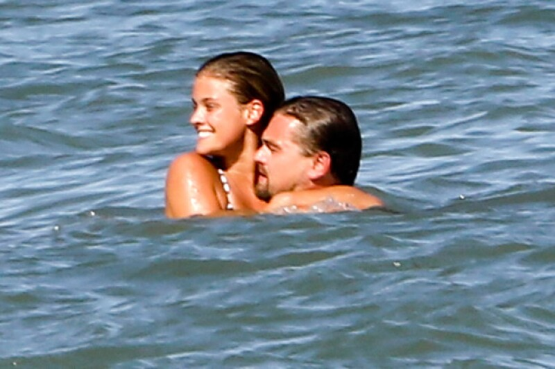 La pareja disfrutó de las playas de Malibú.