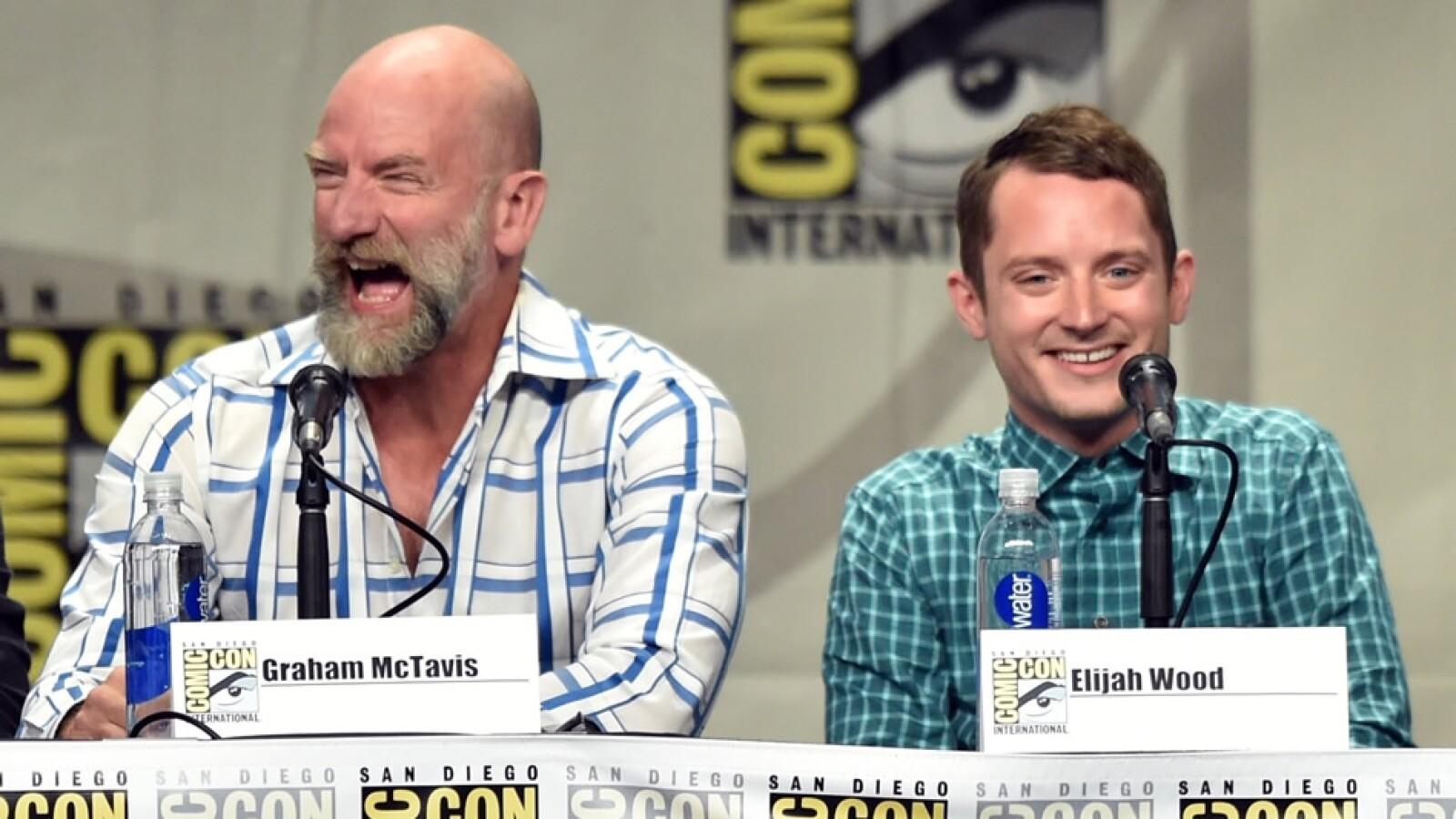 Comic Con 2014 Graham McTavish; Elijah Wood