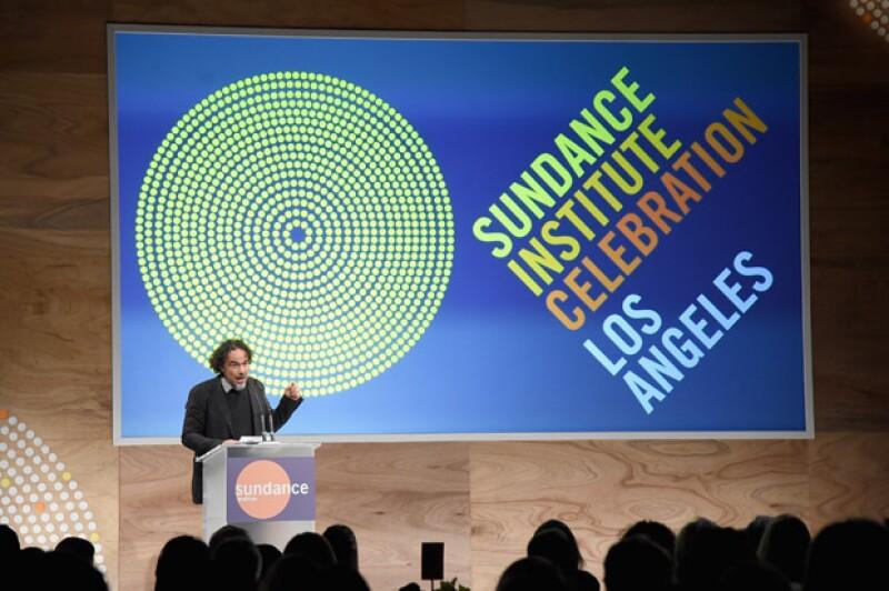 El director recibió el premio Vanguard Leadership Award, que premia lo mejor del cine independiente.